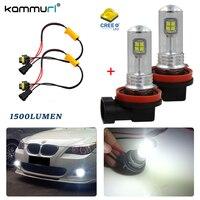 H8 H9 H11 H16JP LED Bulbs White CRE E For Fog Light Driving Lamps 6000K Error