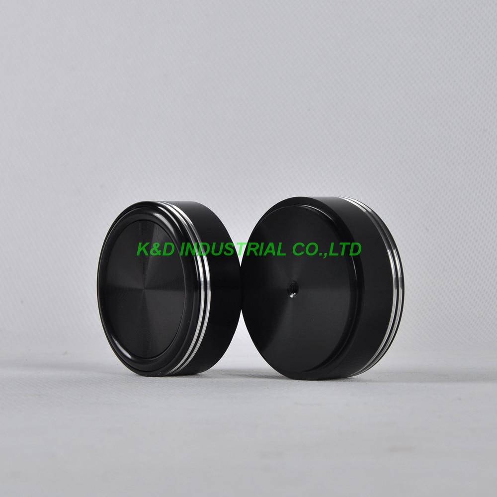 1pc 58x22mm Black aluminum feet HIFI pad Chassis DIY Headphone Amplifier DAC Speaker