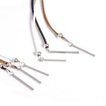 Long Chain Stick choker Women goth Boho Choker Necklace