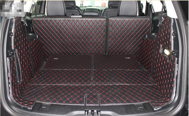 Full Set Trunk Mats For Ford Edge   Durable Wear