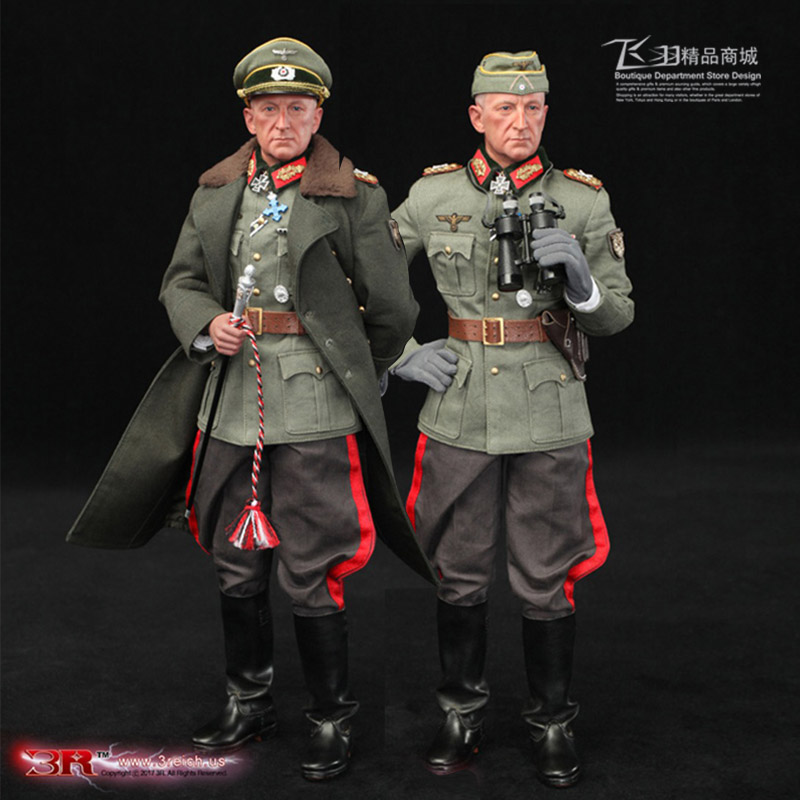 World War II German WWII Wehrmacht Officer 1/6 Soldier Set Model Stanford Erich Vo GM637 for Gift Collection
