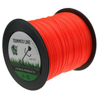 2.4mm 370m Nylon Trimmer Line Mowing Nylon Trimmer Rope Brush Cutter Strimmer Line Mowing Wire Lawn Mower Accessory