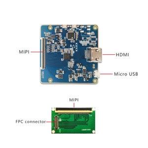 Image 2 - 5.5 pollici 2K LCD display dello schermo 1440x2560 LS055R1SX03 con HDMI a MIPI scheda del controller per WANHAO D7 3d Stampante Parti Del Proiettore