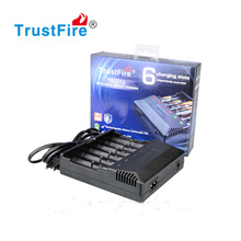 TrustFire TR-012 Universal Digicharger Intelligent 6 Slots Battery Charger TR012 for 18650 18350 16340 14500 AA AAA цена
