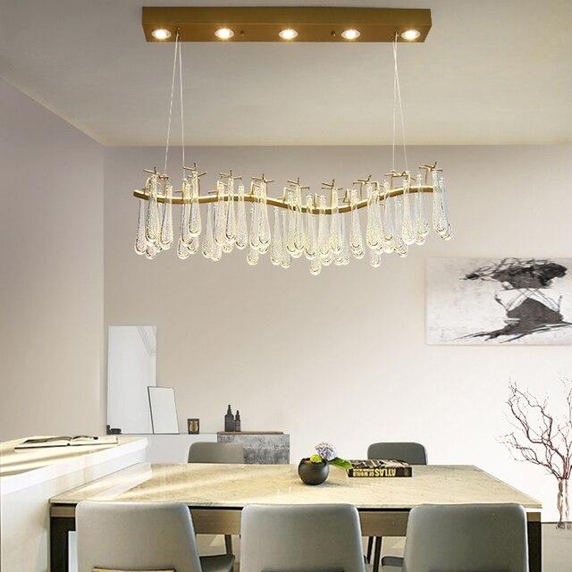 Led Postmodernen Eisen Glas Tear Drops Led Lampe Led Licht