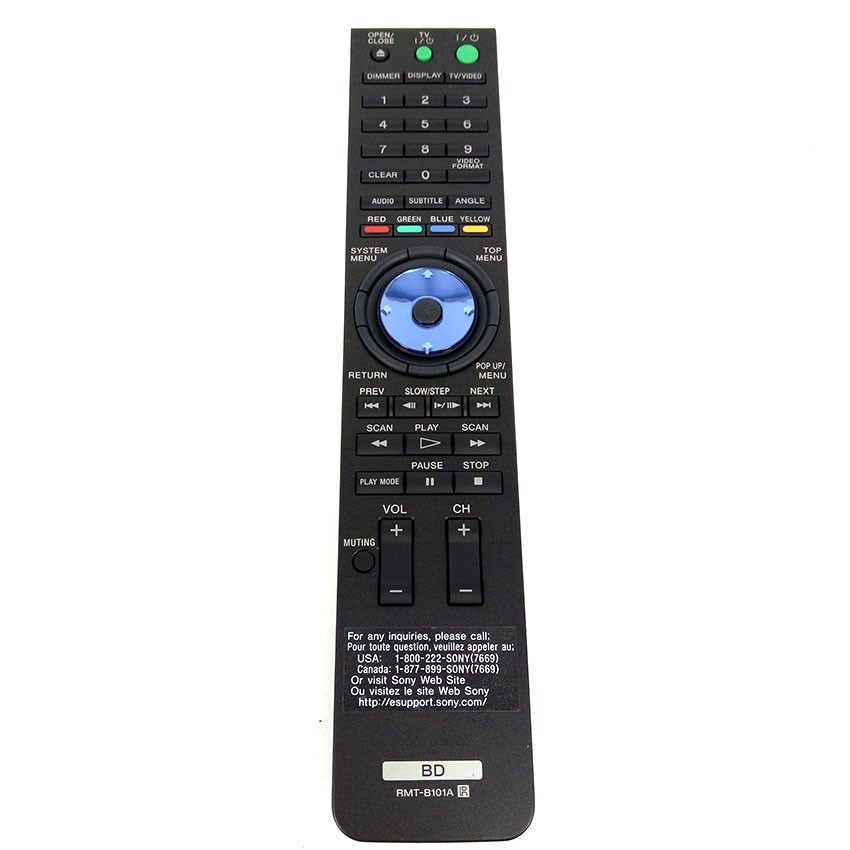 NEW Original RMT B101A for Sony Blu ray BDP S300 BDP S301 BDPS301 BDPS300 Remote Control|Remote Controls| |  - title=
