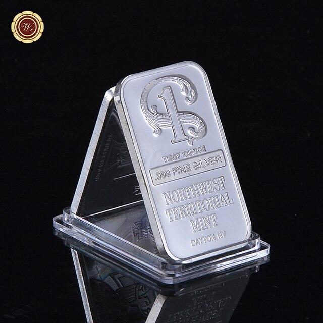 Northwest Territorial Mint Silver Bar 1