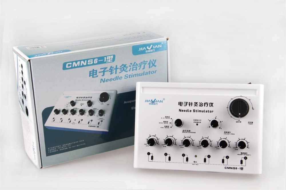 ФОТО 6 Channeles CMNS6-1 Needles Stimulator therapeutic apparatus.Electrical stimulation Acupuncture therapy Device