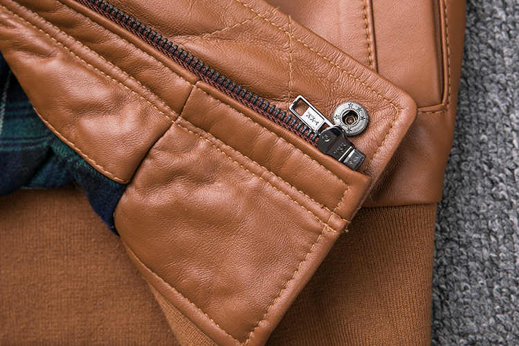HTB18avth4TpK1RjSZFMq6zG VXa5 MAPLESTEED Thickening Quilted 100% Sheepskin Leather Jacket Men Air Force G1 Flight Jacket Man Winter Coat Collar Removable M176
