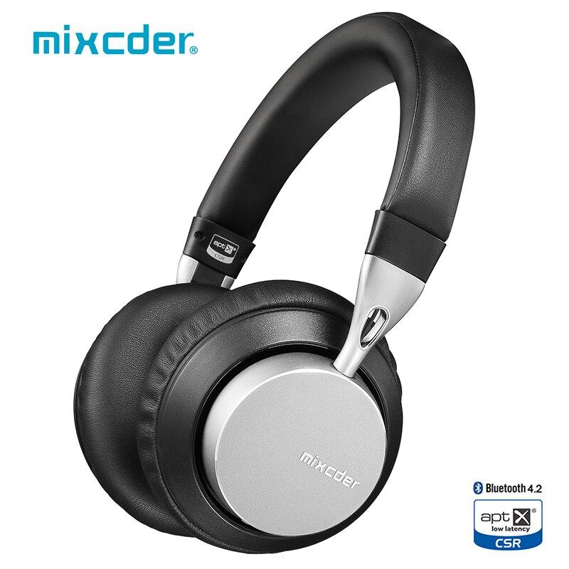 Mixcder MS301 aptX faible latence sans fil Bluetooth casque Bluetooth 4.2 aéronautique métal pliable basse Bluetooth casque