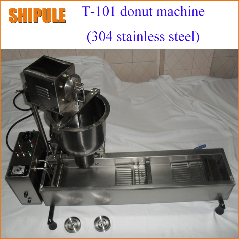 110V/220V automatic donut making machines with 3 mold free shipping automatic spanish snacks automatic latin fruit machines