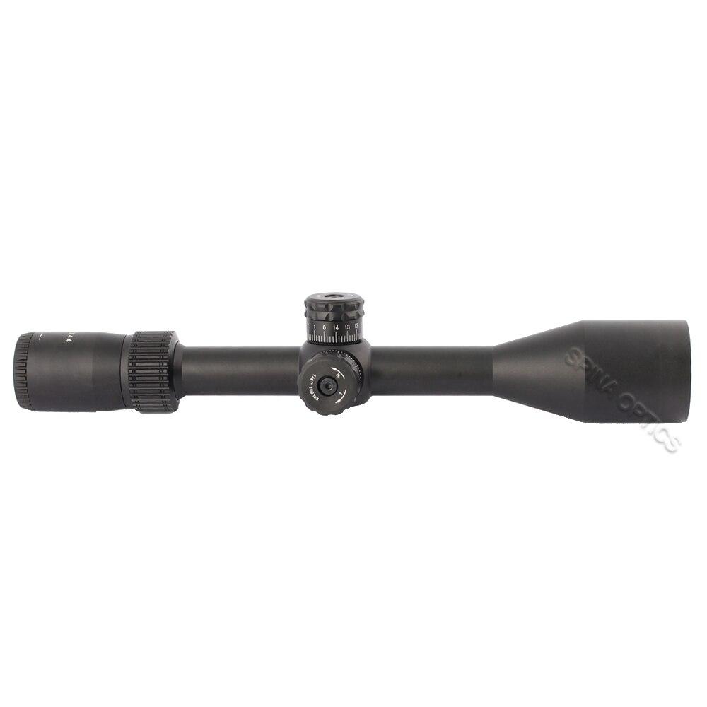 Spina óptica caça óptica mira 3-12x44 riflescope