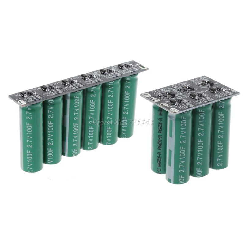 16V 20F Ultracapacitor Engine Battery Starter Booster Car Super Capacitor #  Single Row / Double Row