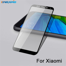 Full Cover Protective Glass for Xiao mi Redmi 5 plus Screen Protector Tempered on Xiomi note a2 lite Film case