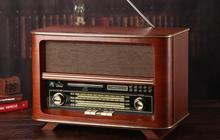Bluetooth version upgrade Large antique speakers retro CD player classical radio MP3 audio card usb SD