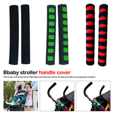 2pcs Baby Stroller Handle Cover Push Tube Cart Sleeve EVA Foam Covers Armrest Soft Protector Grips Accessories High Quality