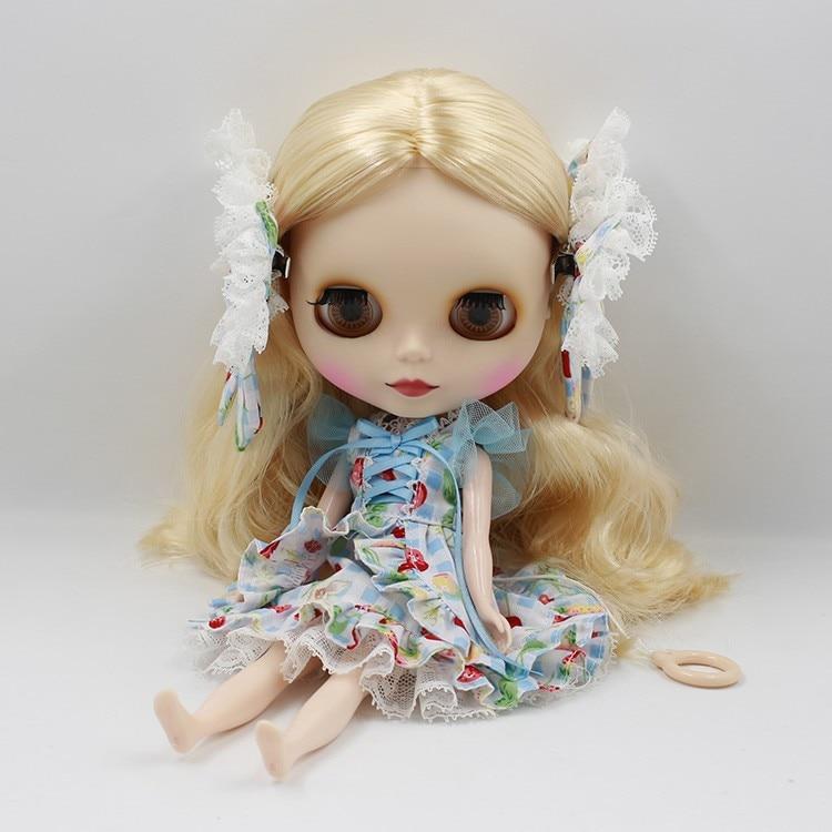 Neo Blythe Doll Butterfly Skirt Dress 8