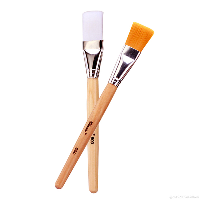 1PC Silicone Mask Brush DIY Mud Mixing Facial Foundation Skin Care Beauty Makeup Brushes for Women Girls Maquillaje Wholesale 5