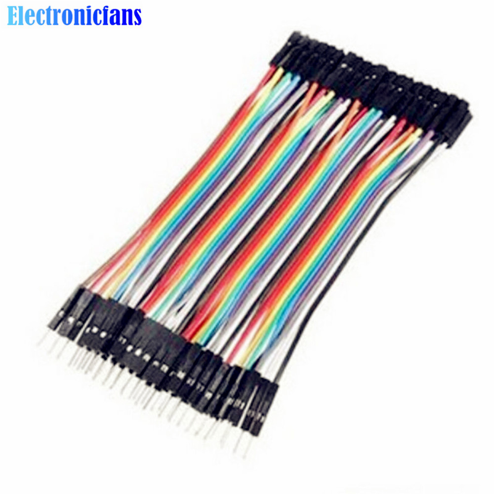 Aliexpress.com : Buy 40PCS Dupont 10CM Male To Female Jumper Wire ...