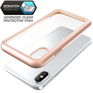 Image 3 - SUPCASE For iphone X XS Case UB Style Premium Hybrid Protective TPU Bumper + PC Clear Back Cover Case For iphone X Xs 5.8 inch
