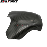 Motorcycle carbon fiber fuel tank cap sticker ultra light sun protection cover for Yamaha RZF R1 YZFR1 2009 2014