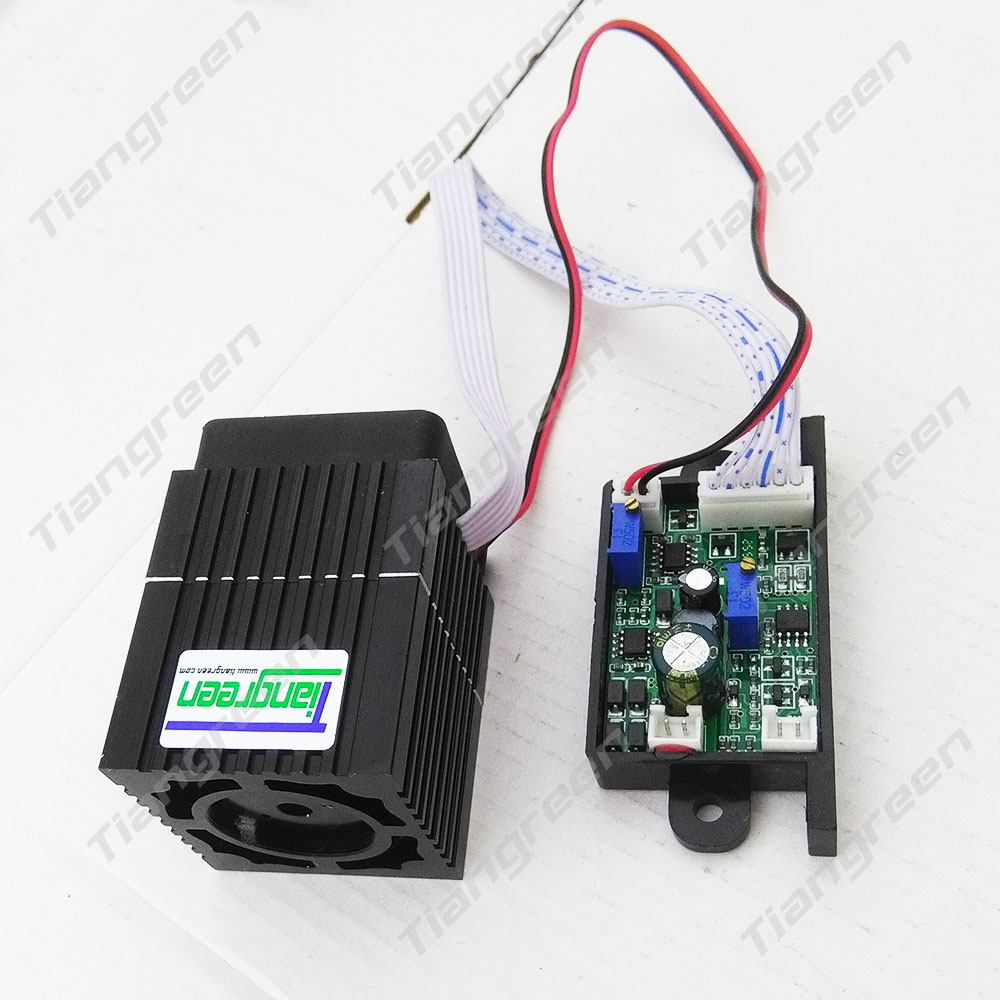 tgleiser 532nm green laser 300mW stage lighting 12V with TTL modulation RGB laser diode туники tantra туника