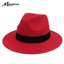Negro Jazz sombreros para las mujeres Vintage del sombrero de ala ancha  Fedora Floppy Cloche hombres e185529eab6