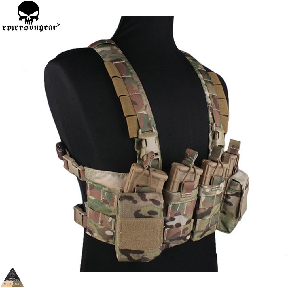 Jurnalı çantası olan Airsoft Hunting Paintball Vest Multicam - İdman geyimləri və aksesuarları - Fotoqrafiya 3