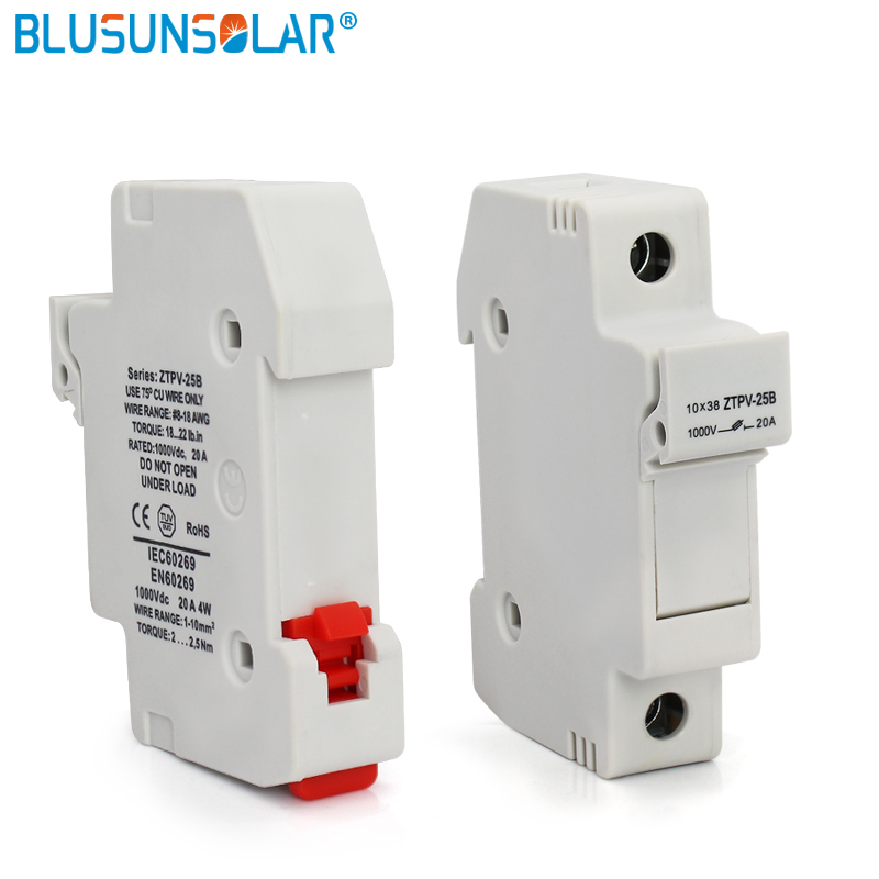 100 Pieces Waterproof Solar PV Fuse Holder for PV Fuse DC 1000V High Quality BX0236