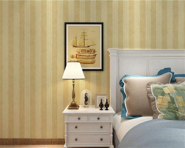 Beibehang wallpaper per soggiorno Piano verticale a strisce 3d carta ...