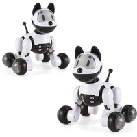 Dog Robot Music Robot Dog Dance Intelligent 2.4G Wireless Remote Control Kids Electronic Toys Talking Toys Educational Kid Gift