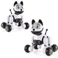 Dog Robot Music Robot Dog Dance Intelligent 2.4G Wireless Remote Control Kids Electronic Toys Talking Toys Educational Kid Gift
