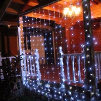 3 2 M Curtain Icicle String Christmas Fairy Light Garden Wedding Holiday Christams Room Xmas Party