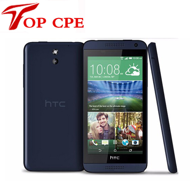 "Original HTC Desire 610 Qual Core Mobile phone 4.7"" TouchScreen 1GB RAM 8GB ROM GPS Wifi Unlocked 3G 4G Android Cellphone"