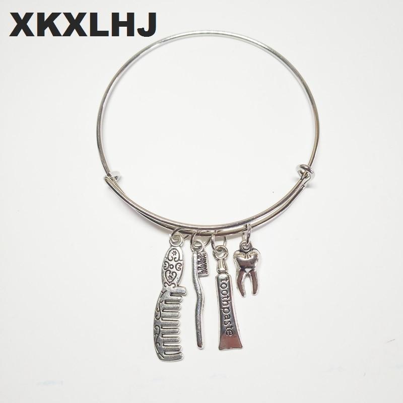 XKXLHJ 2018 New Bracelet Dentist Dental Assistant Gift Hygienist Jewelry