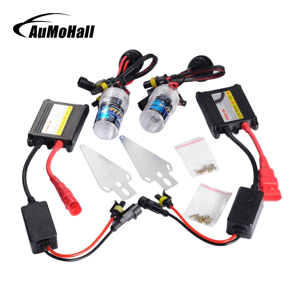 AuMoHall Slim Ballast Xenon Hid Kit 35W H1 DC230 Car Light Source Headlight Bulbs 3000K 4300K 5000K 6000K 8000K 10000K 12000K 35w xenon hid kit car headlight bulbs slim ballast h4 h7 h8 h9 h11 h1 h3 h16 hb3 hb4 880 d2s 4300k 6000k 8000k 10000k 12000k