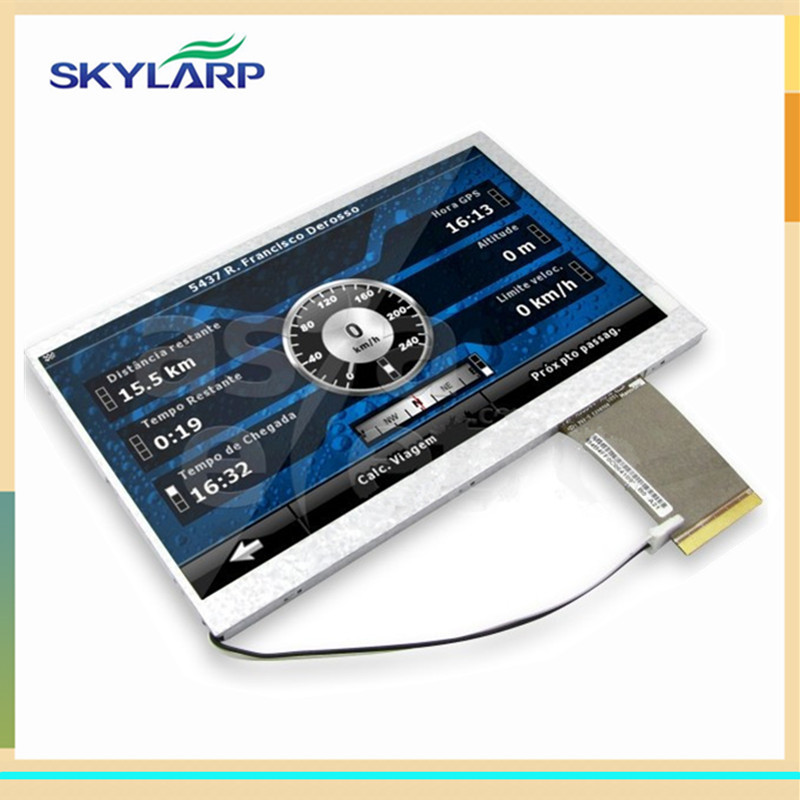 skylarpu 7 inch for HannStar HSD070IDW1-A20 Digital photo frame car DVD tablet computers LCD screen display panel(without touch)