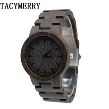 Japan MIYOTA Quartz Movement Wooden Watches Dress Wristwatch For Unisex Full Men and Women Best Gifts