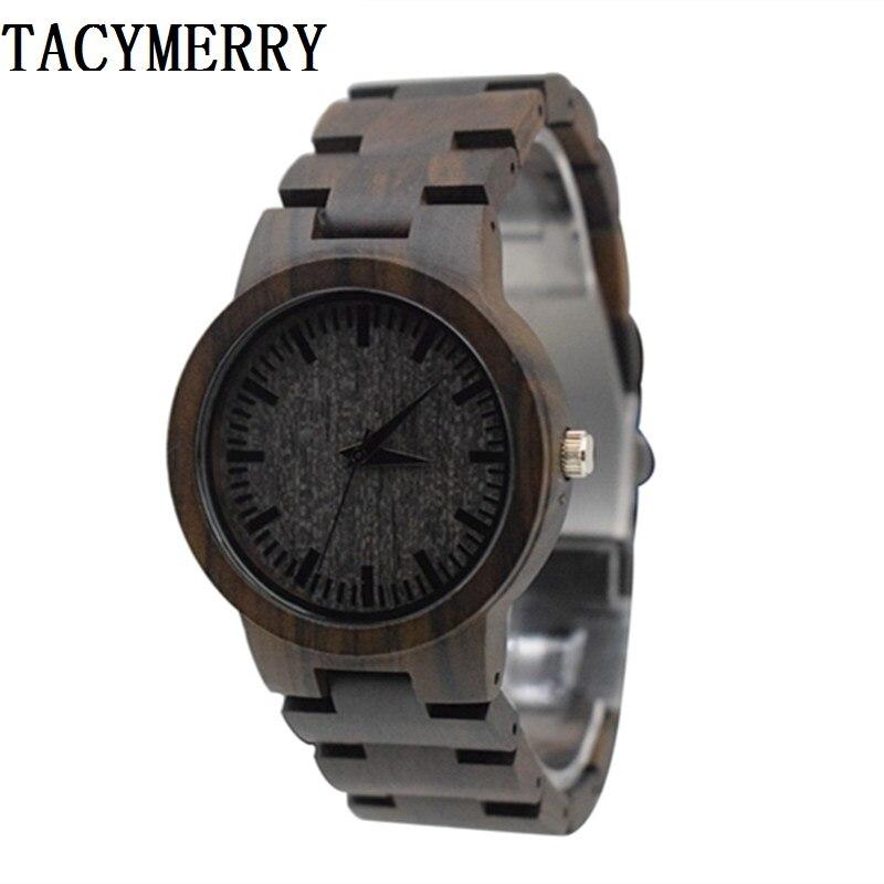 Japan MIYOTA Quartz Movement Wooden Watches Dress Wristwatch For Unisex Full Wooden For Men and Women Best Gifts