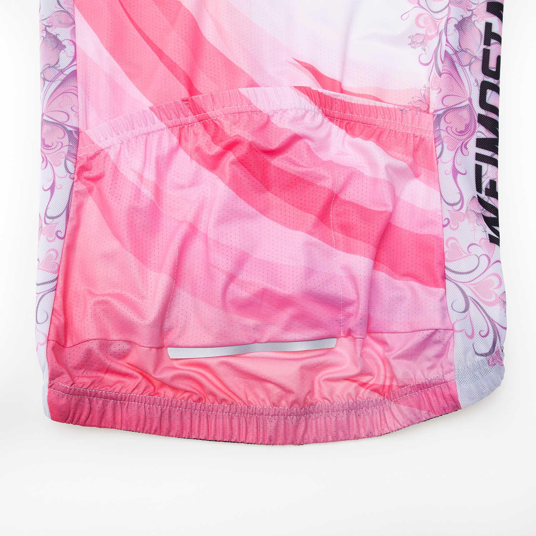 Женская велосипедная Джерси профессиональная команда Велоспорт Джерси Ropa Ciclismo мотобайк, велосипед, велотренажер одежда летняя одежда для велоспорта Рубашка розовая