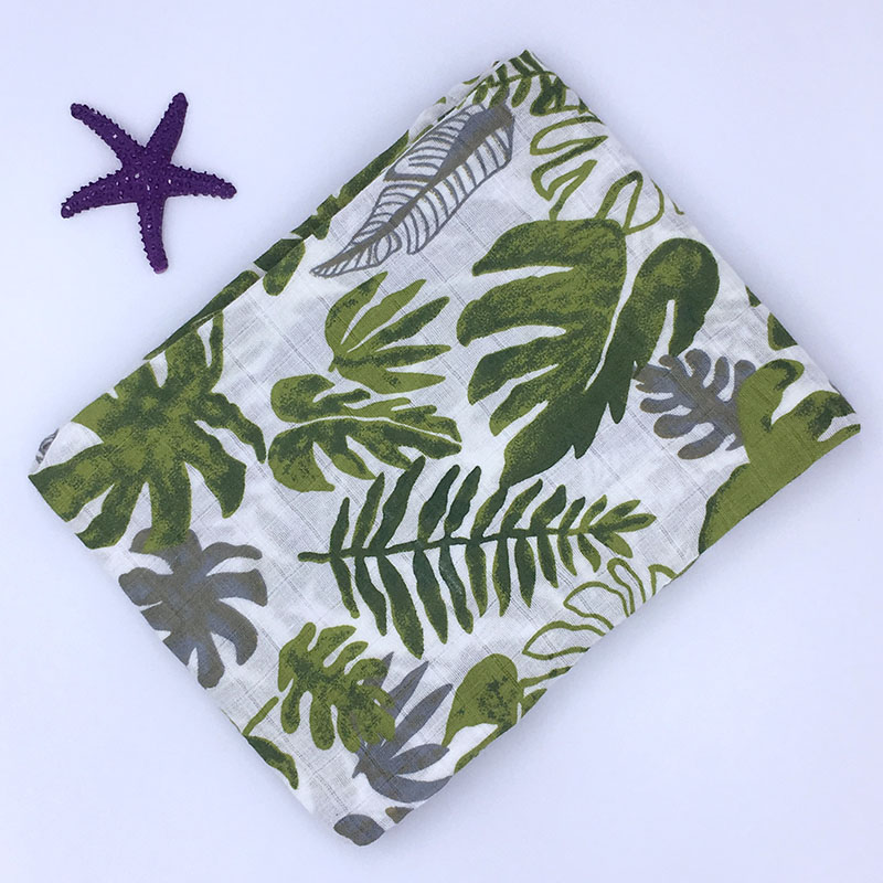 Baby Decke Neugeborenen Musselin 100% Baumwolle Baby Decke Swaddle Wrap Empfang Decke Bad Handtuch 120x120 cm Bettwäsche Musselin swaddle