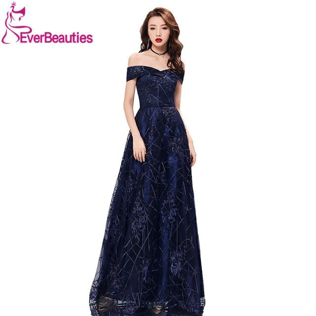 85c2f7d2b78 Sweetheart Evening Dresses Long Short Sleeves Tulle Elegant Vestidos Formal  Party Gowns Floor Length Robe De Soiree Prom Dress