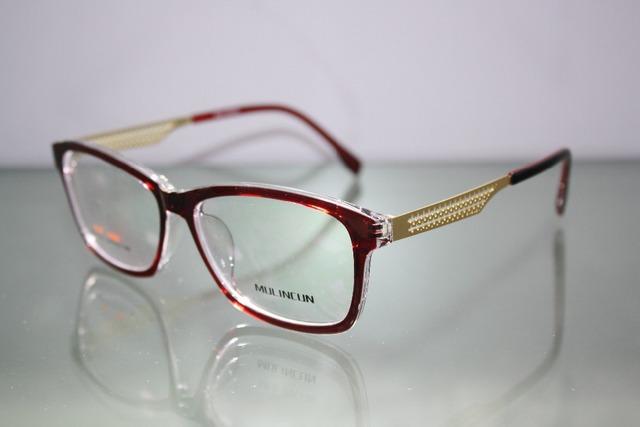 2016 Venda Custom Made Óculos Menos Míope Loiro Grande Quadro Briller óculos de leitura-1-1.5-2-2.5-3-3.5-4-4.5-5-5.5-6