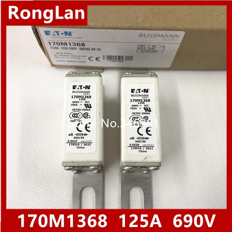 [SA]United States BUSSMANN Fuses 170M1368 170M1368D 125A 690V fuse--3PCS/LOT[SA]United States BUSSMANN Fuses 170M1368 170M1368D 125A 690V fuse--3PCS/LOT