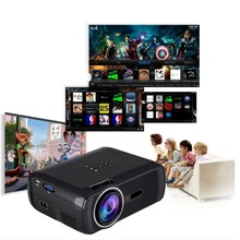 BL80 Portátil Mini Proyector Android HDMI TV LED Juego de Video de la PC Projetor proyector 3D Beamer 1080 P Full HD TV Home Cinema Teatro