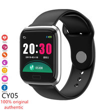 CY05 Smart Band Color Screen Smart Sports Bracelet Heart Rate Monitoring Fitness Tracker Smartwatch For Android IOS PK Q9 B57(China)