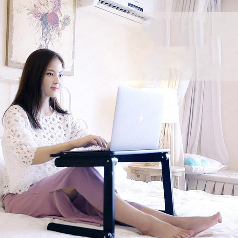 Небольшой стол кровать складной столик для ноутбука с спальным помещением колледж ленивый складной кронштейн кровать маленький Mesas Pequenas миниатюрный ноутбук стол