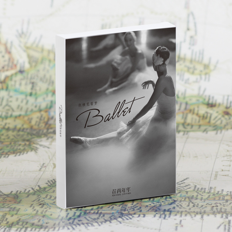 30 Sheets/Set Beautiful Ballet Girl Postcard /Greeting Card/Message Card/Christmas And New Year Gifts Cards