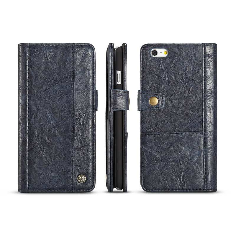CaseMe Universal Retro Leather Wallet Case For iPhone 6plus With Card & Cash Slots ...