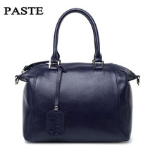 Hot selling luxury fashion genuine leather women handbags high class natural leather vintage style ladies messenger bags